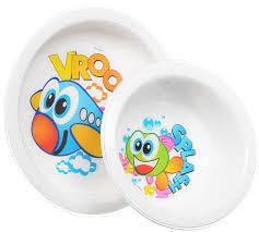 <b>Cosmoplast</b> Набор <b>детской</b> посуды New Baby Set 5 предметов