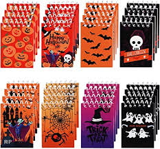 48 Pieces <b>Halloween</b> Notepads Spiral Notebooks <b>Pumpkin Pattern</b>