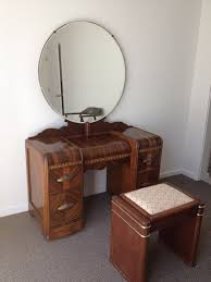 1930s art deco waterfall bedroom furniture my older cousin had this set when i was art deco style bedroom furniture