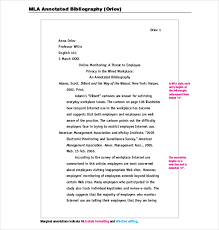 research paper annotated bibliography Cover Letter Templates