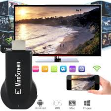 Mirascreen TV Stick <b>HDMI</b> Full HD 1080P Anycast Miracast DLNA ...