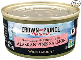 Crown Prince Natural <b>Skinless</b> & Boneless Alaskan <b>Pink Salmon</b>, 6 ...