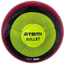 Купить <b>Мяч</b> футбольный <b>Atemi BULLET WINTER</b>, PU, красн/чёрн ...