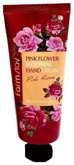 <b>Крем для рук</b> Farmstay <b>Pink</b> flower blooming <b>Pink</b> rose
