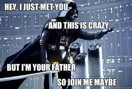 Darth Vader Disturbed memes | quickmeme via Relatably.com