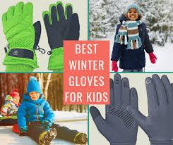 Best Winter Gloves <b>for Kids</b> - waterproof, fleece, touchscreen and ...