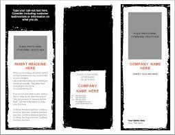 brochures templates best business template word brochure c7tasfvt it