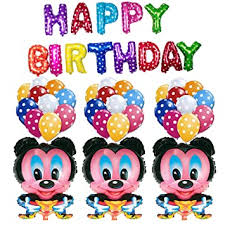 Masti Zone 3 <b>Pcs Mickey</b> Mouse Cartoon Character Foil with <b>1Pcs</b> ...