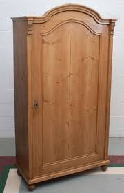 single door pine armoire image 2 antique english pine armoire