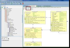 how to  generate an erd for selected tables in sql developerandre