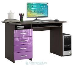 <b>Письменный стол Мастер Мастер Милан</b>-<b>3</b> Глянец — купить по ...