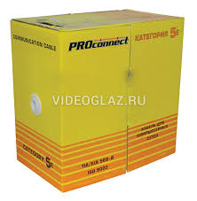 <b>PROCONNECT Кабель UTP</b> 2PR 24AWG CAT5e 305м (01-0027 ...