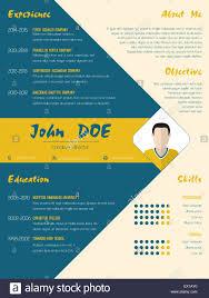 modern curriculum vitae cv resume template design in blue and modern curriculum vitae cv resume template design in blue and orange color