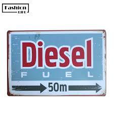 home decor plate x: hot diesel fuel m vintage metal signs home decor vintage tin signs pub vintage decorative plates