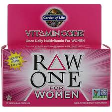 Garden of Life <b>Vitamin Code</b>® <b>RAW One</b>™ <b>Multivitamin</b> for Women ...