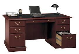 durable design for a 40 hour work week bush saratoga computer desk