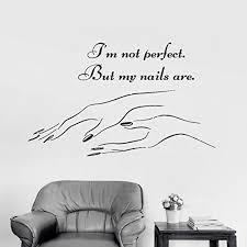 lyclff <b>Nail Salon</b> Quote <b>Wall</b> Window <b>Decal Sticker Nails</b> Manicure ...
