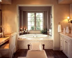 pics of bathroom designs: creme and warm tones go so well together and give you a feeling of a day
