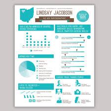 Infographic Resume Design Custom Colors by ScribbledNapkin     zoom