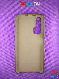 Усиленный <b>силиконовый</b> чехол-накладка (<b>бампер</b>) <b>Silicone Cover</b> ...