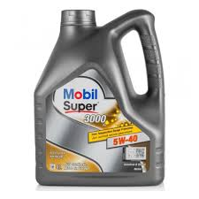 <b>Моторное масло MOBIL</b> Super 3000 X1 5W-40 4 л — купить в ...