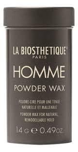 Купить <b>пудра</b>-<b>воск для придания</b> объема homme <b>powder wax</b> 14г ...