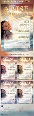 arise church concert flyer template by godserv graphicriver arise church concert flyer template church flyers