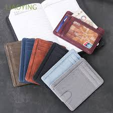 Travel <b>Unisex Small Mini</b> Leather <b>Coin</b> Bag Card Package | Shopee ...