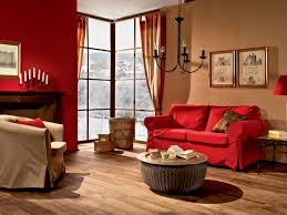 Red Wall Living Room Decorating Special Red And Beige Living Room Decor On Interior Design Ideas