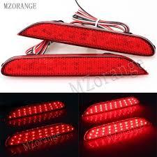 <b>MZORANGE 2 Pcs LED</b> Rear Bumper Reflectors <b>Lights</b> lamp For ...