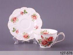<b>Чашка с блюдцем</b> чайная роза <b>Lefard</b> 250мл 2пр | Блюдце, Чашка ...