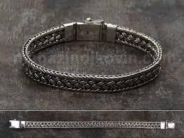 <b>плетёный</b> плоский <b>серебряный браслет</b> | Браслеты, Серебро ...