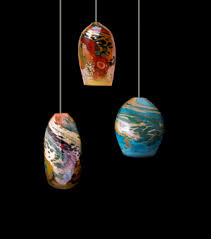 combination art glass pendant light three panel simple earth our dialy breadal bany spectacular art glass lighting fixtures