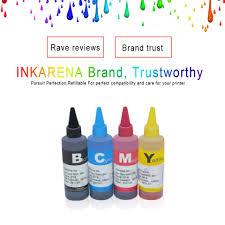 Universal 4 <b>Color Dye Ink For</b> epson 100ML ink refill kit for epson ...