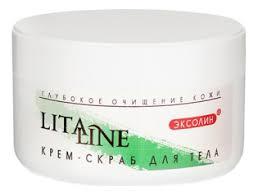 <b>Очищающий крем</b>-<b>скраб для тела</b> 200мл Litaline купить ...
