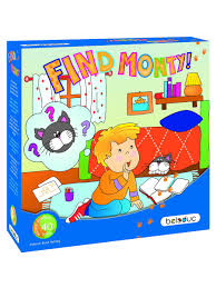 """<b>Развивающая игра</b> """"Найди кота Монти!"""" <b>Beleduc</b> 2929394 в ..."""