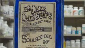 A History Of 'Snake Oil Salesmen' : Code Switch : NPR