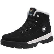 <b>Cotton shoes men</b> s <b>winter</b> plus velvet thickening anti slip middle aged