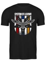 Толстовки, кружки, чехлы, футболки с принтом <b>system of</b> a down ...