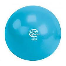 Медбол <b>Lite Weights</b> 4кг Light Blue 1704LW подходит для всех ...