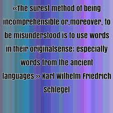 Karl Wilhelm Friedrich Schlegel famous quote about ancient, being ... via Relatably.com