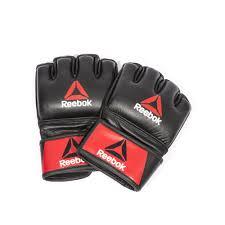 Профессиональные кожаные <b>перчатки Reebok</b> Combat для <b>MMA</b> ...
