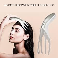 Vibration <b>Head Massager</b> Finger Gripper Claw Body <b>Scalp Massage</b> ...