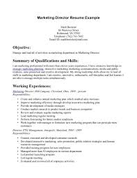 marketing resume objective statements httptopresumeinfomarketing objective statement for resume examples