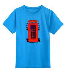 Детская футболка классическая унисекс <b>London Phone</b> Booth ...