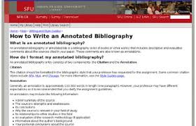 Examples Of Annotated Bibliography In Apa Format For Websites Lake Sumter State College Annotate A