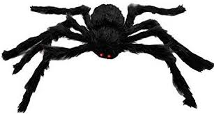 150cm/4.9Ft Plush <b>Spider</b> for <b>Halloween Party Cosplay</b> Prop ...