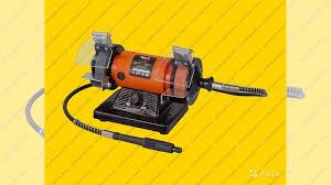<b>Точильный станок</b> (точило) <b>Bort</b> BDM-110-FS купить в ...