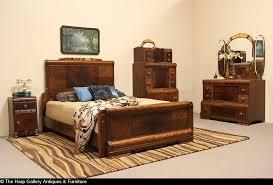 furniture sold art deco waterfall 1935 queen size 3 pc bedroom set harp with antique art deco antique art deco bedroom furniture
