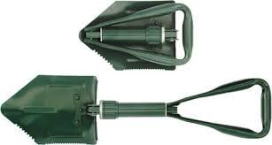 <b>Лопата саперная складная</b> FIT, цвет: зеленый, 570 мм — купить в ...